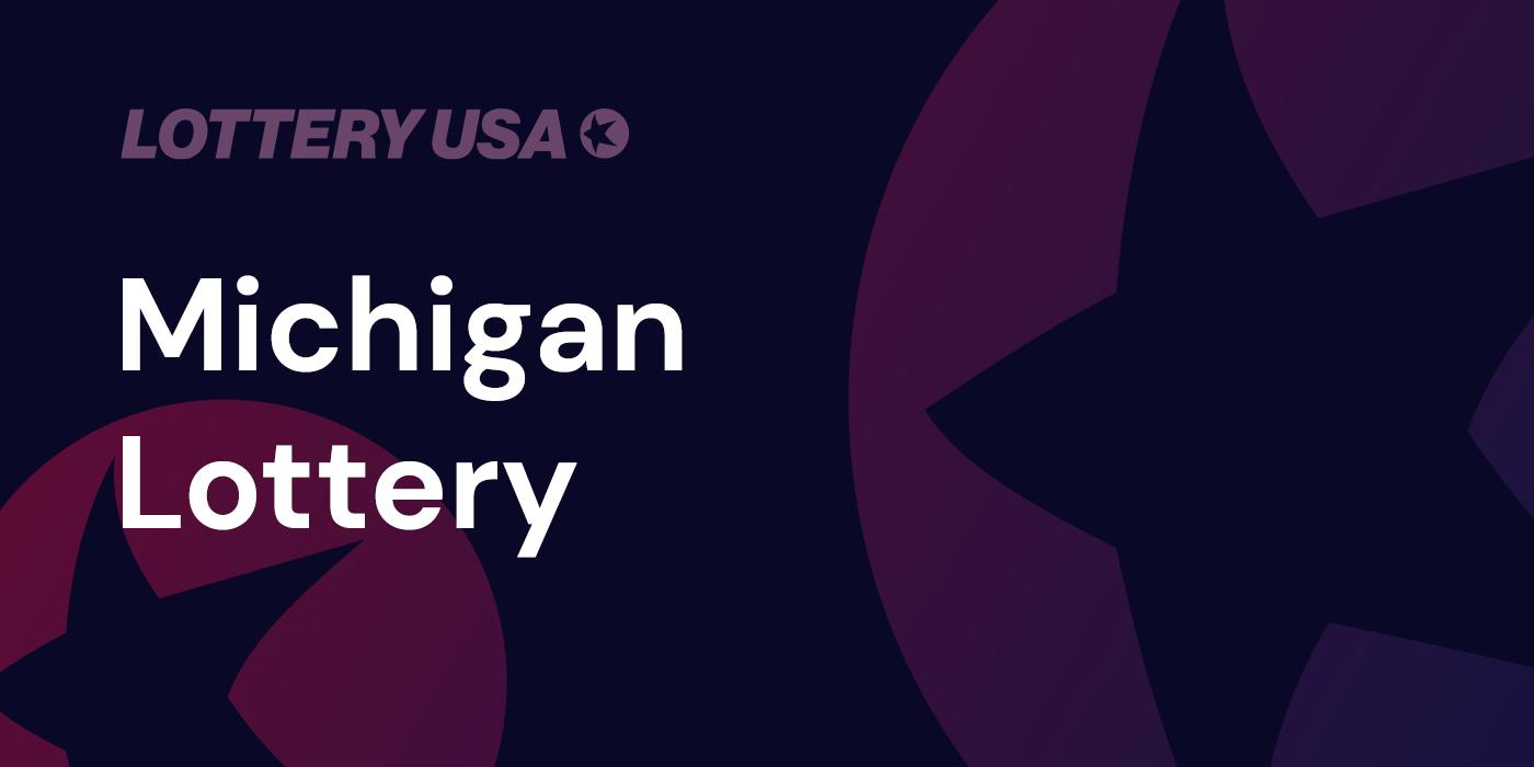 Michigan Mi Lottery Winning Numbers Results